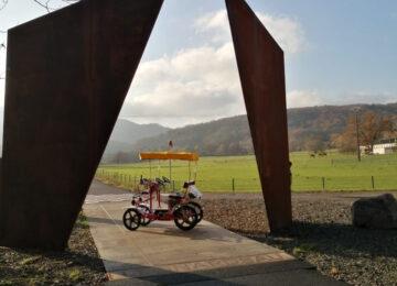 Les Rosalies du Piémont à Boersch
