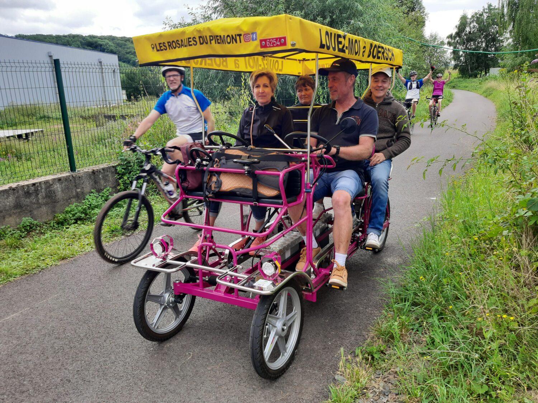 Les Rosalies du Piémont à Boersch été 2021 - Location de Rosalies en Alsace